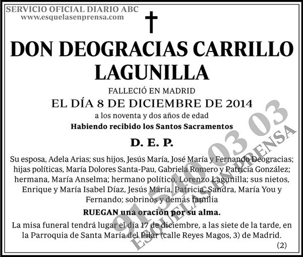 Deogracias Carrillo Lagunilla